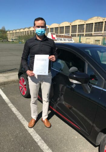 Dr Anurag, Passed first time. congratulations on your success, well done