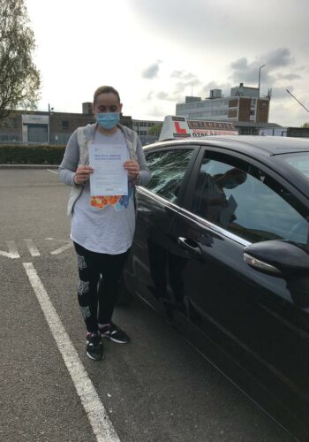 Ms Veorica , passed first time , congratulations on your success. Well Done