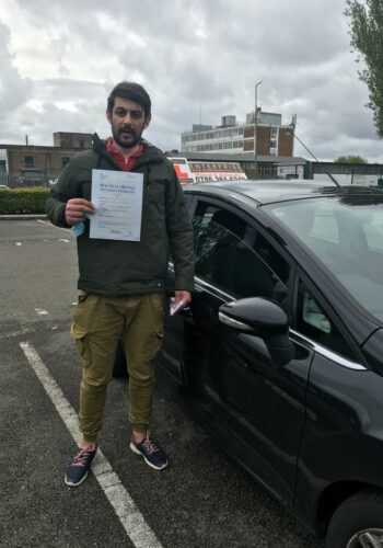 Congratulations Dragos, passed first time