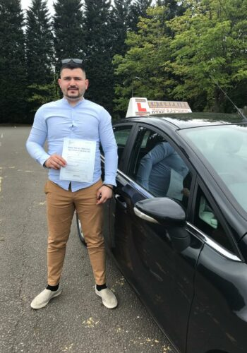 Congratulations Iurie, passed first time